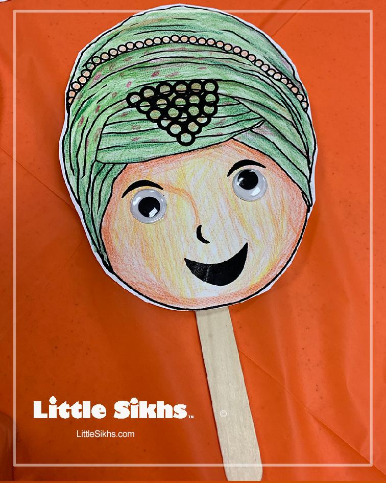 Little Sikhs Puppet Sample (Kaur)