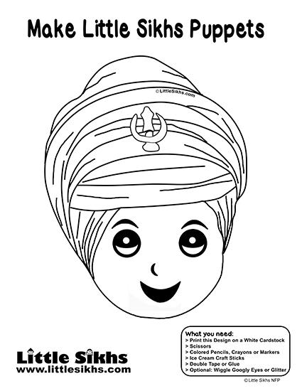 Little Sikhs Puppet (Singh)