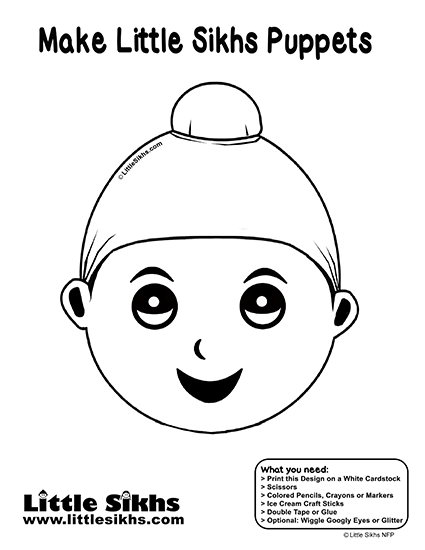 Little Sikhs Puppet (Young Singh)