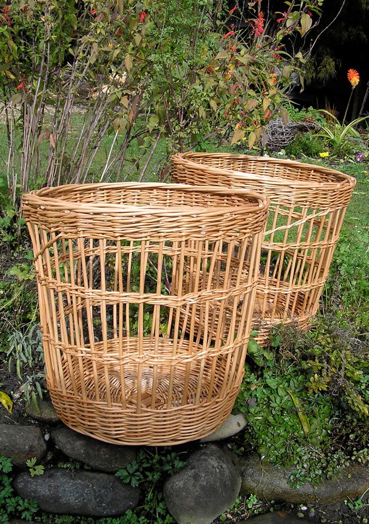 Open sided baskets