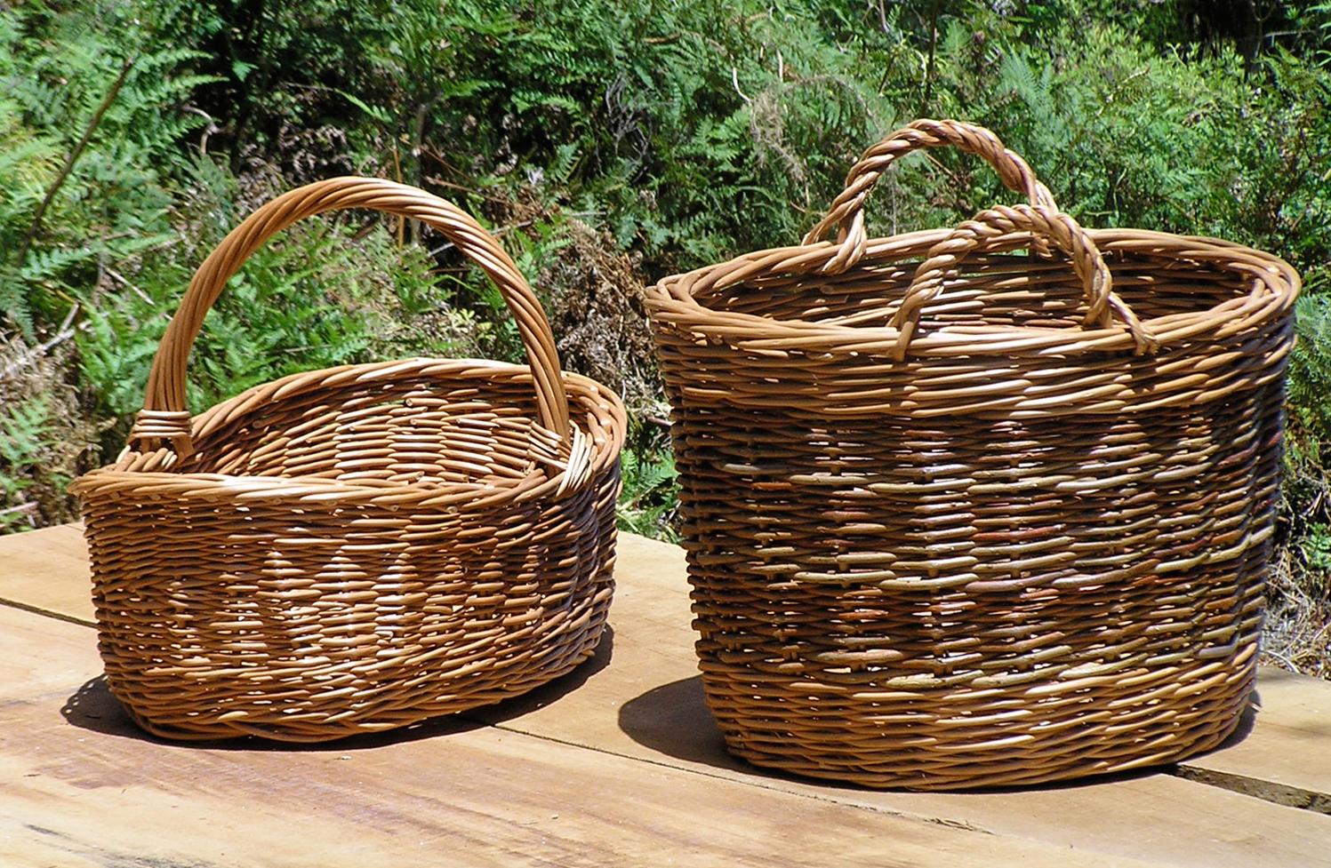 Custom sized baskets