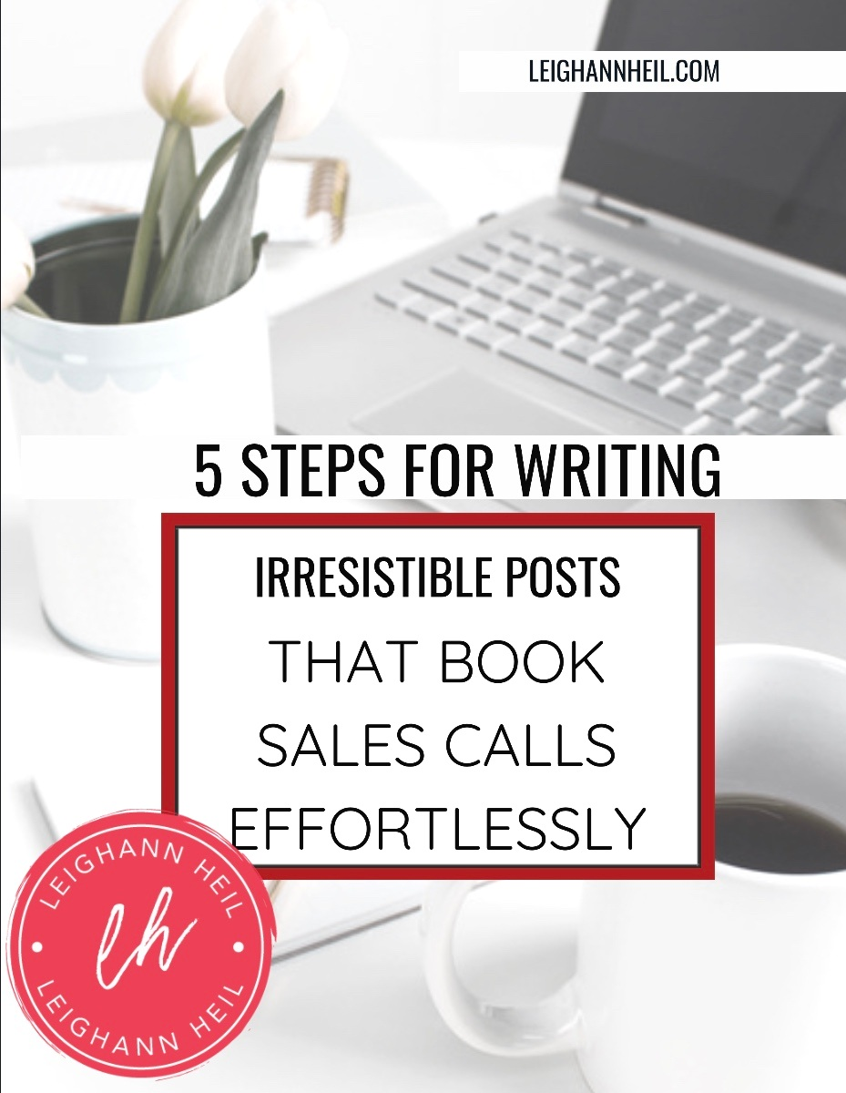 This easy checklist, step-by-step, will help you get noticed and booked out by your ideal clients. -