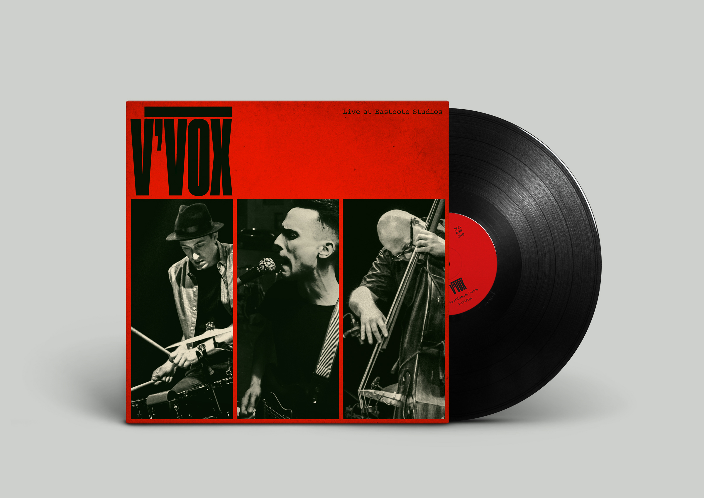 V'VOX Live at EastCote Studios - 12'' vinyl available in our store
