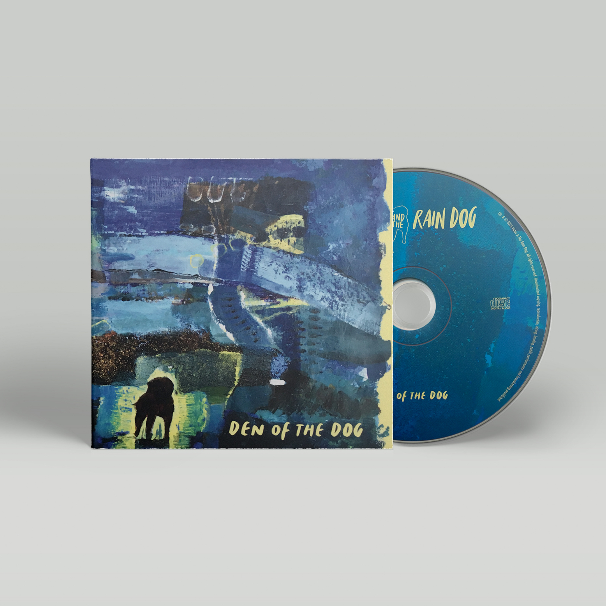 Den Of The Dog - Limited edition CD by Victor & The Rain Dog, available in our store