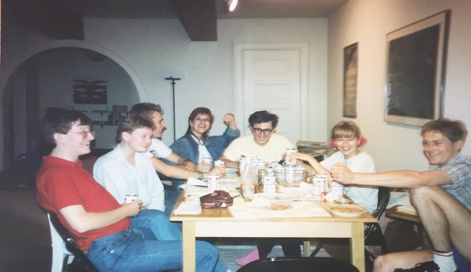 L to r - George, Me, Angus, Linda, Ace, Suzie & Rob