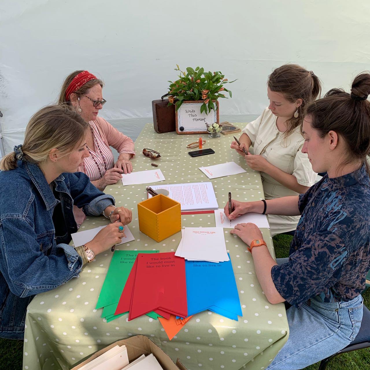 Quartet of Letter-Writers