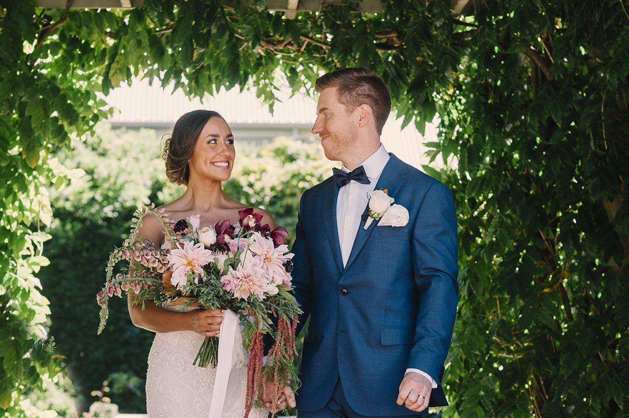 MARGARET RIVER'S SECRET GARDEN WEDDING PHOTOGRAPHY