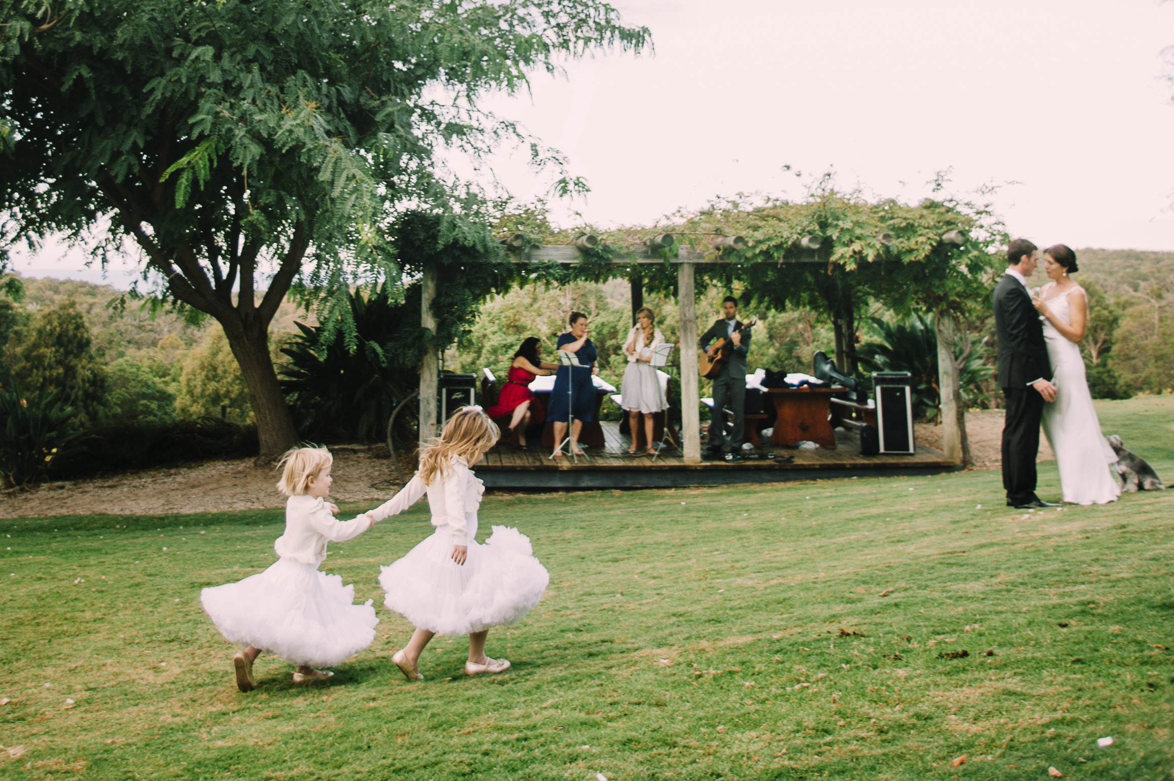 Flower Girls Wise Winery Wedding