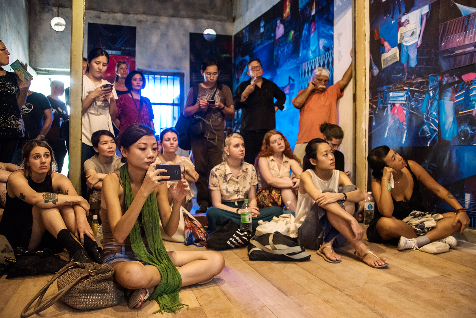 Gallery View & Artist Talk : What News Of The Snake That Lost Its Heart in the Fire, by Arko Datto