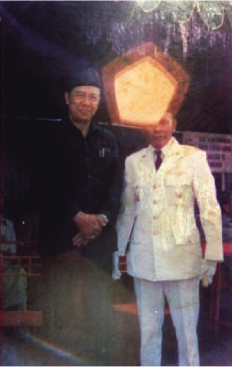 Photograph as amulet. Noorman's wahyu photographs of the pancasila (distributed to followers). From Karen Strassler's Refracted Vision: Popular Photography and National Modernity in Java.