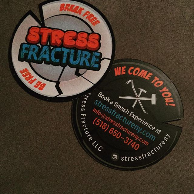 In love with my new business cards!  #stressrelief #stressreliever #albany #stressfracture
