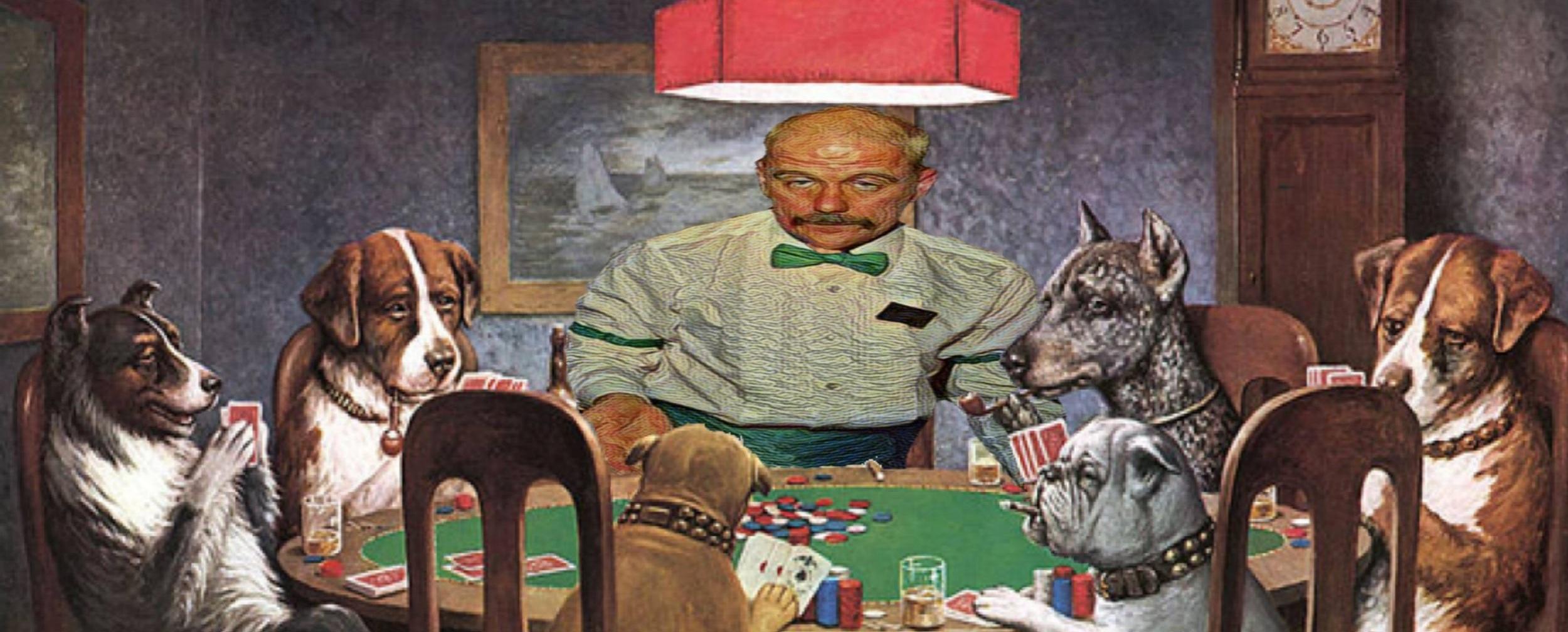 an improvisational blackjack experience