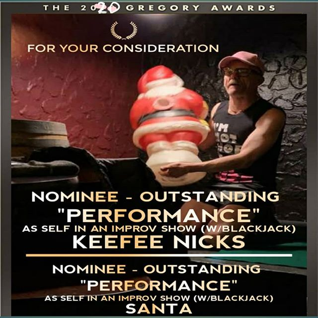 Its too late for this year but its never too early to put your chicken in the pot! 2020. Its Gregory Award ceremony shopping time. #gregoryawards #tps #comedy #comedyshow #comedyimprov #seattletheater #seattlenightlife #seattlecomedy #seattle #seattleimprov #belltown #belltownseattle #keefee #keefeeshouseofcards #iamkeefee
