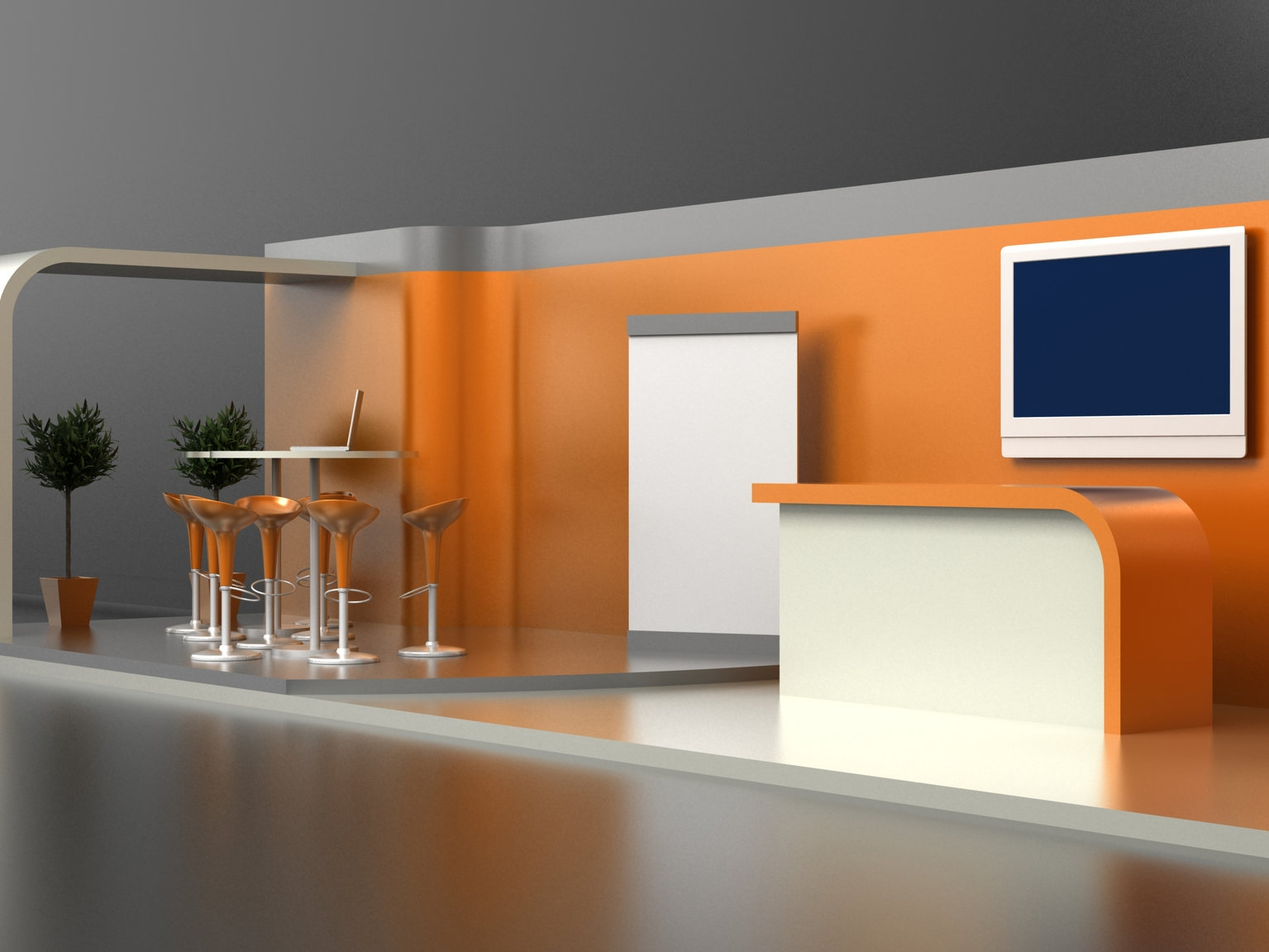 Exhibition stands - Attract the attention of exhibition visitors with a great looking, eye catching stand.