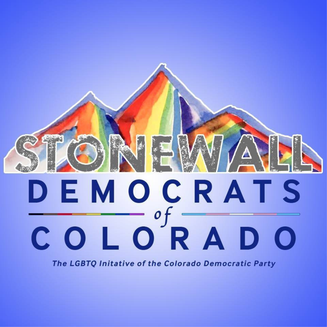 Stonewall Democrats of Colorado  Stonewall Democrats are the LGBTQ initiative of the Colorado Democratic Party. Recognize and welcome all members of the community and the values they bring to our movement, this includes people of color, trans-people, and women. We are proud to endorse Candi who would be the first LGBTQ+ Latina on Denver's City Council.