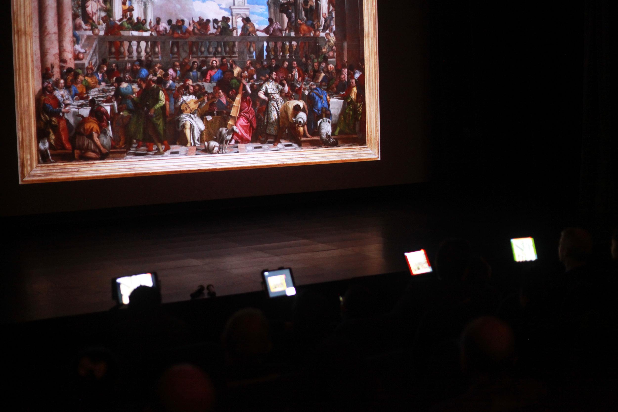 Inauguration du Musée numérique en présence de M. le Ministre de la culture Franck Riester. 29/01/19.