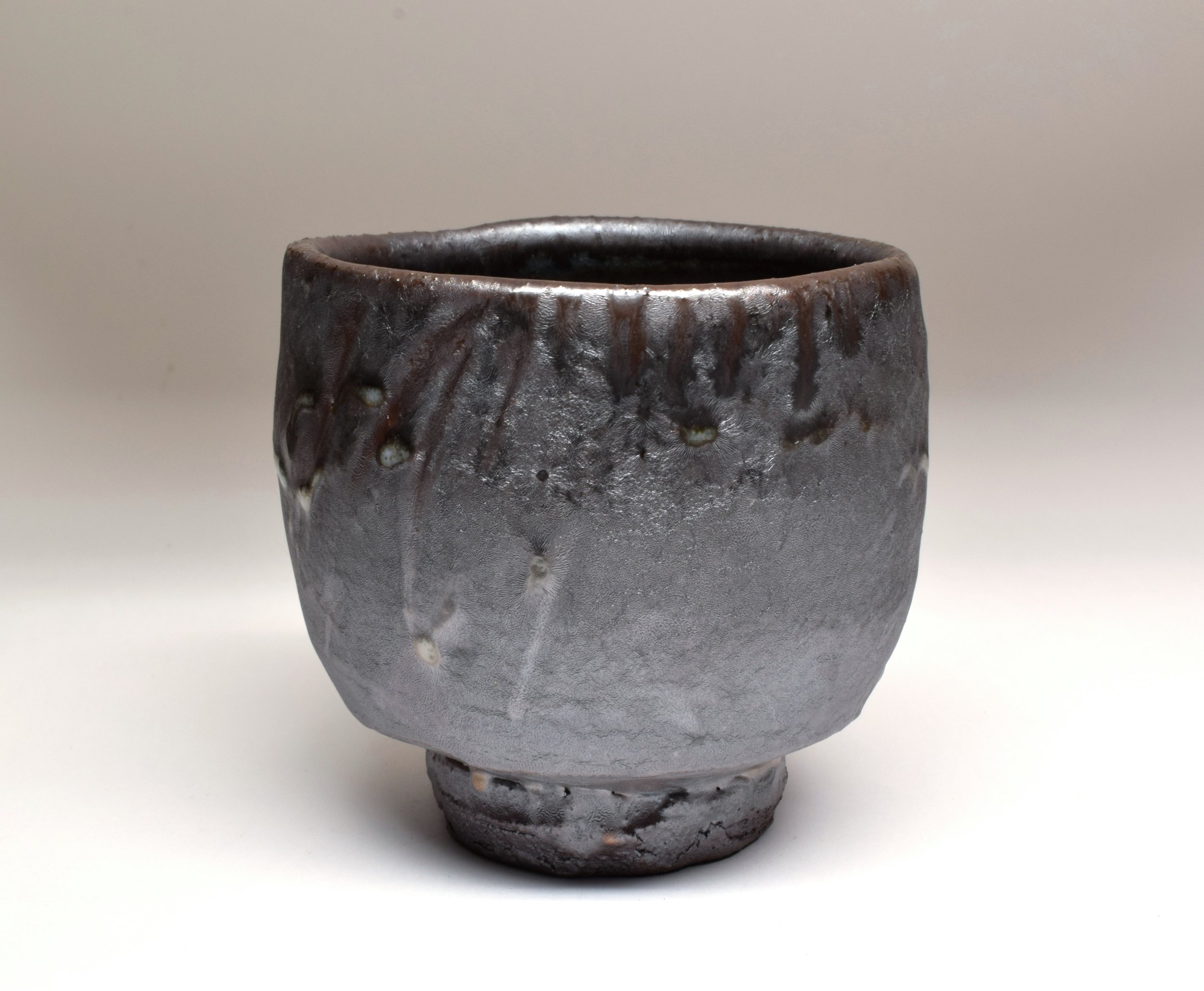 Salt glazed wood-fired stoneware    Photo credit:  Courtesy of the artist