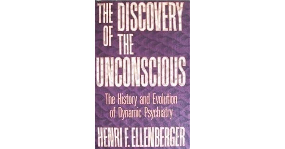 "Image Description: purple book cover with some textured pattern in the background, with white block lettering that says ""The Discovery of The Unconscious: The History and Evolution of Dynamic Psychiatry"" with the author's name below."