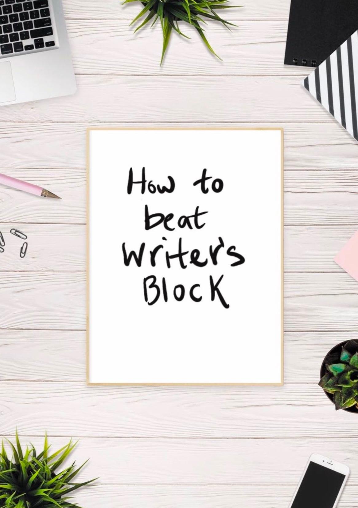 How_To_Beat_Writer's_Block
