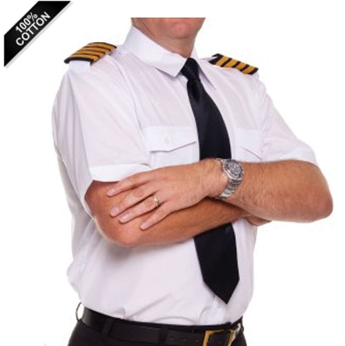 - Pilots Short Sleeved Shirt (also available in Blue) £25.00