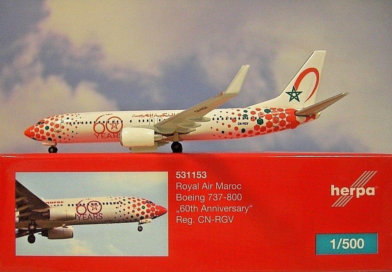 - 1/500 Royal Air Maroc '60th Anniversary' CN-RGV £35.00