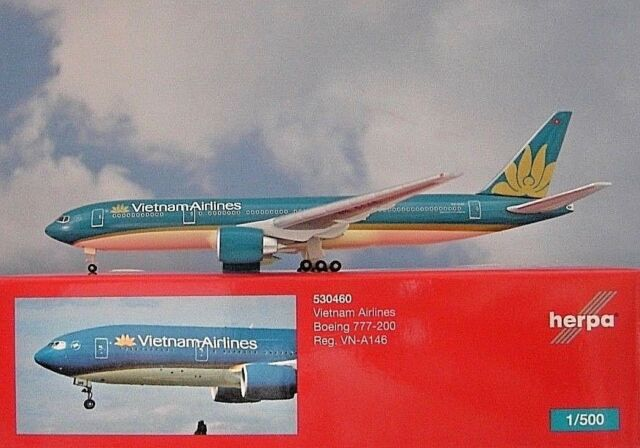 - 1/500 Vietnam Airlines 777-200 VN-A146 £33.00