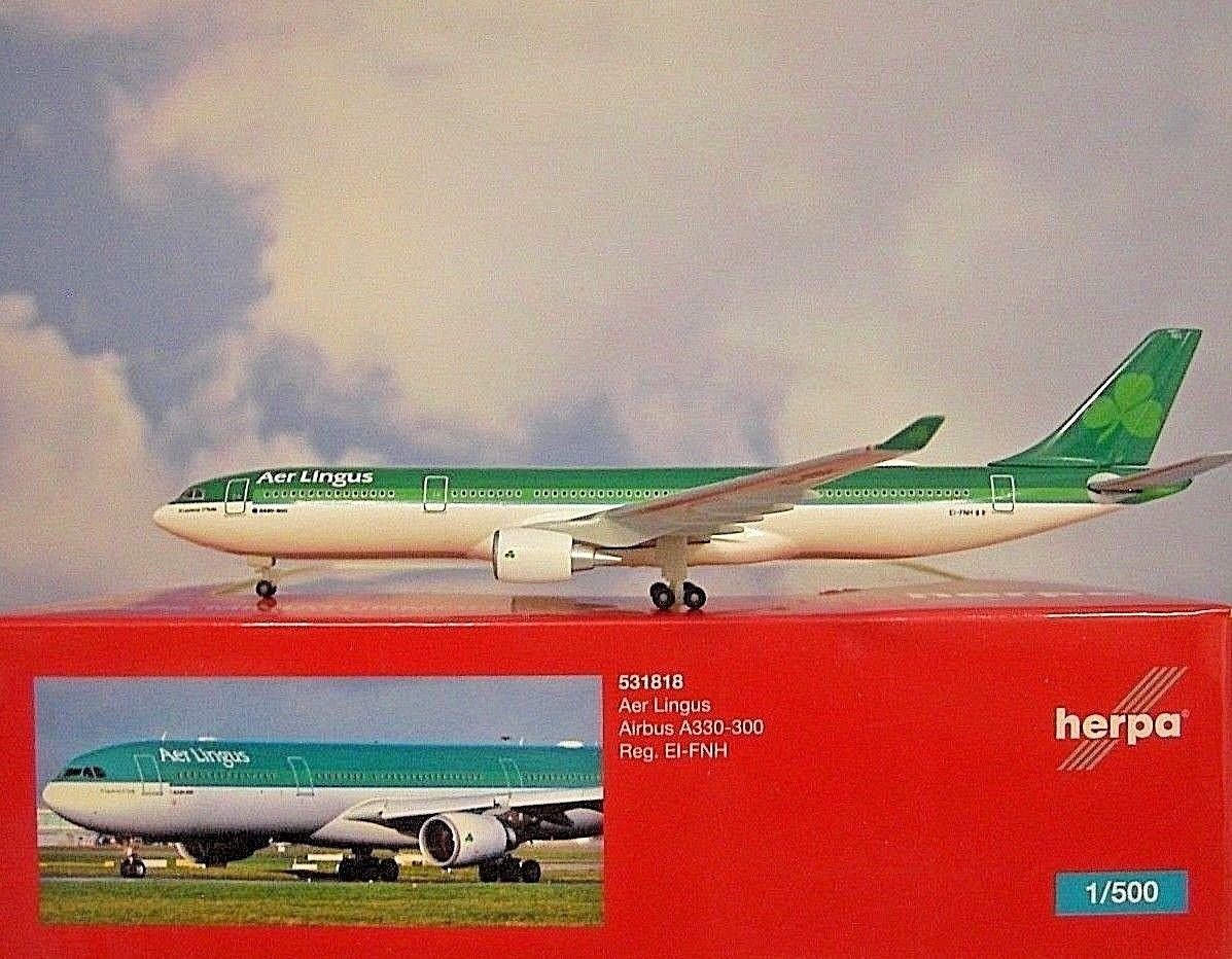 - 1/500 Aer Lingus A330-300 EI-FNH £35.00