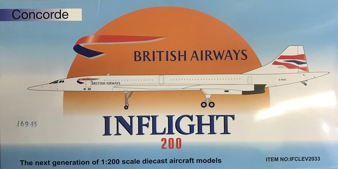 - British Airways Concorde BOAC £80.00