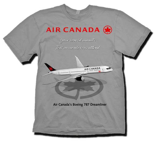 - Air Canada T-Shirt £21.95
