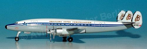 - 1/500 Super Constellation Flyers Association Lockheed L-1049H HB-RSC £20.00