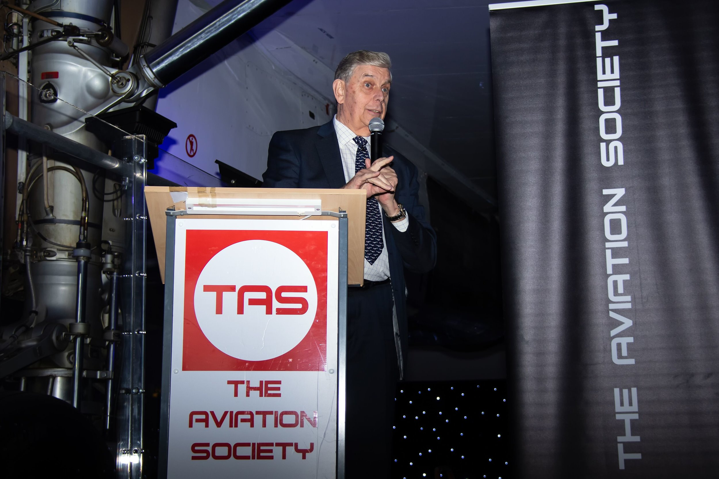 Fred Finn - Guinness Book of records holder as The worlds most travelled man and Concorde's most frequent flyer (Over 700 flights on Concorde) delivered a superb speech and answered questions from our audience…