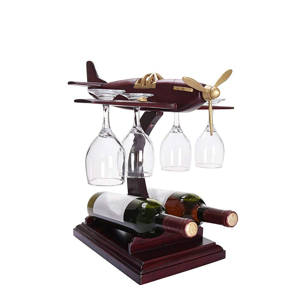 - Wooden Wine Bottle & Glass Holder£75.00