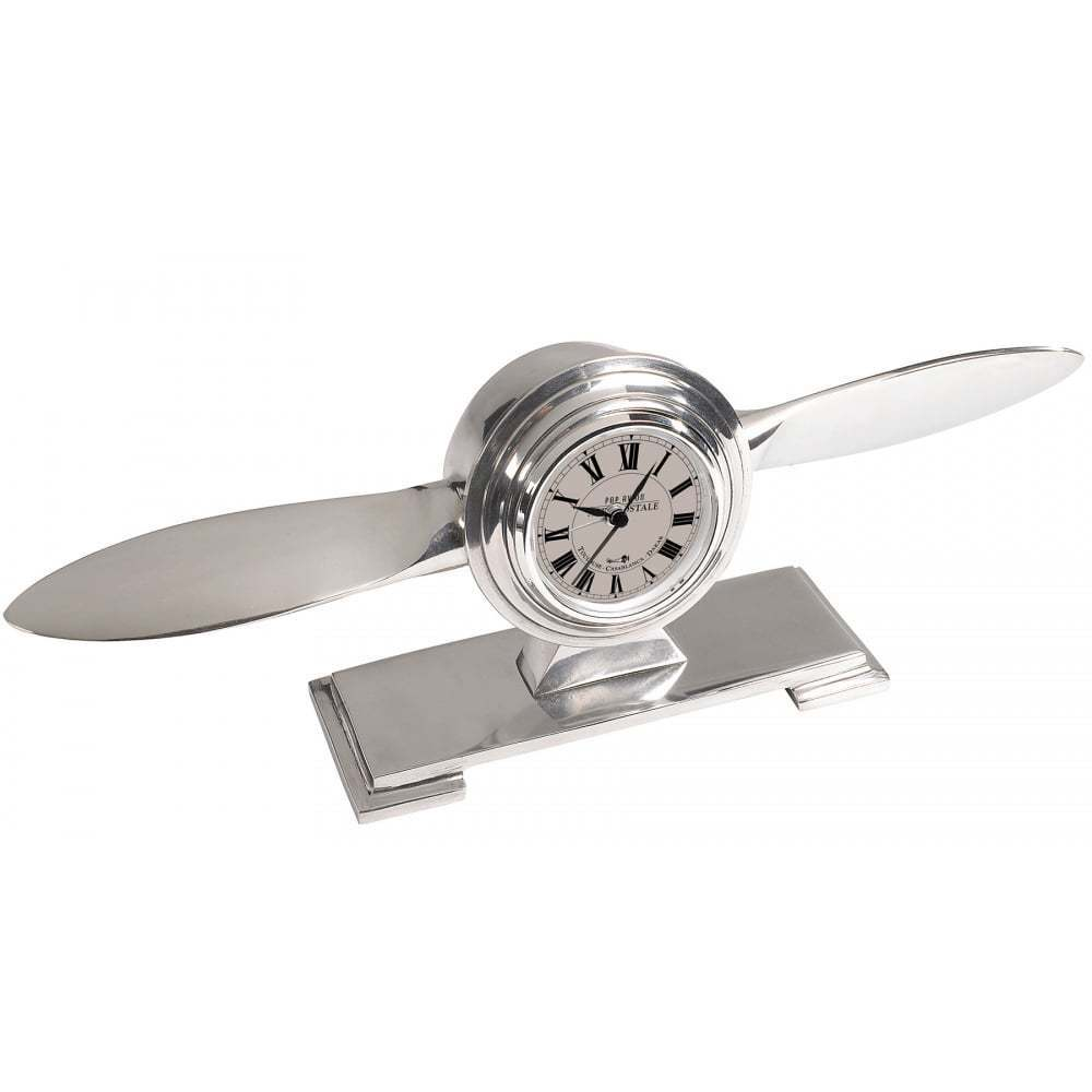 - Propellor Desk Clock £80.00