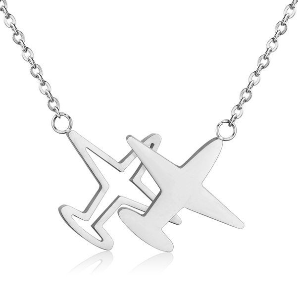 - Silver Airplane Pendant £15.00