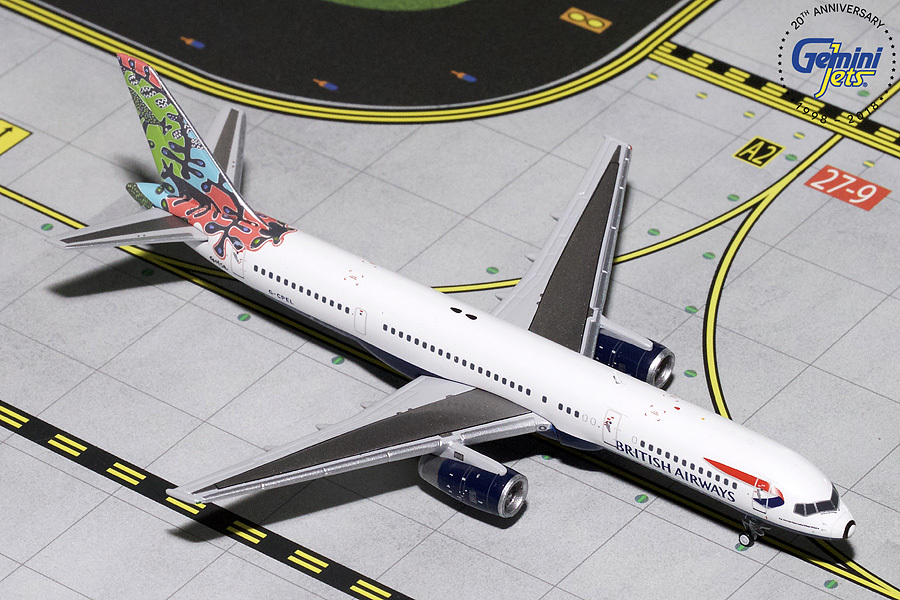 - 1/400 British Airways 757-200 'Animals & Trees'G-CPEL£45.00