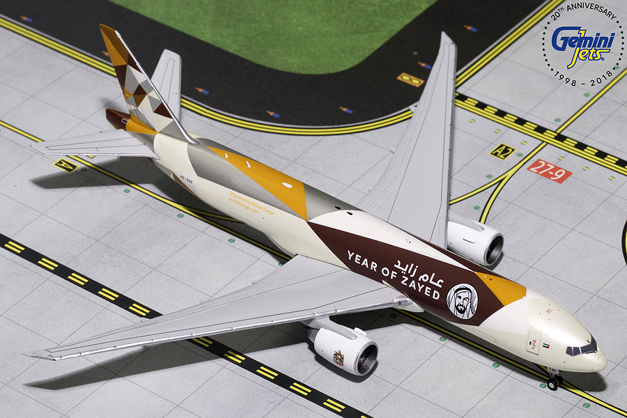 - 1/400 Etihad 777F Cargo 'Year of Zayed' A6-DDE£55.00
