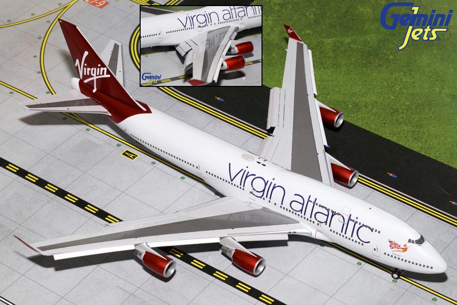 - 1/200 Virgin 747-400 G-VBIG £190.00