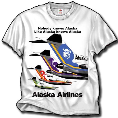 - Alaska Airlines £21.95