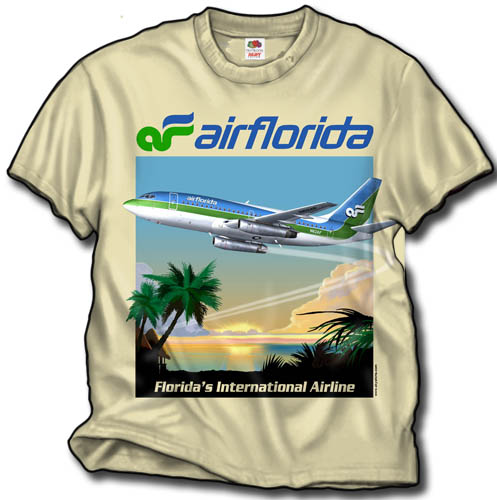 - Air Florida T-Shirt £21.95