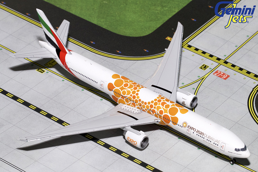 - 1/400 Emirates 777-300ER Orange Expo 2020 A6-EPO £55.00