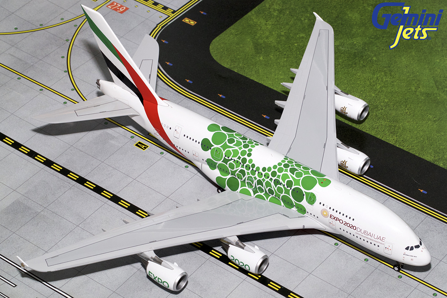 - 1/200 Emirates A380-800 Expo 2020 A6-EEW£170.00