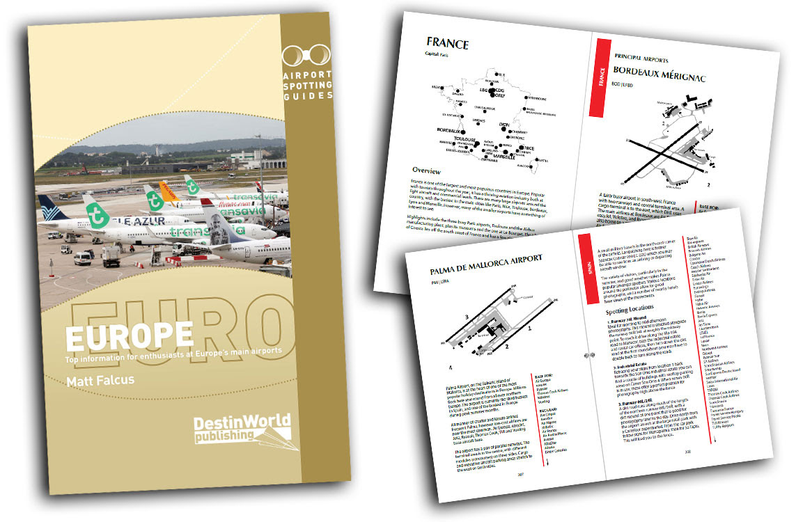 - Airport Spotting Guides Europe 3rd Edition£14.99