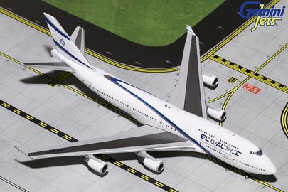 - 1/400 El Al 'Good Bye Boeing 747' 747-400 4X-ELB£55.00