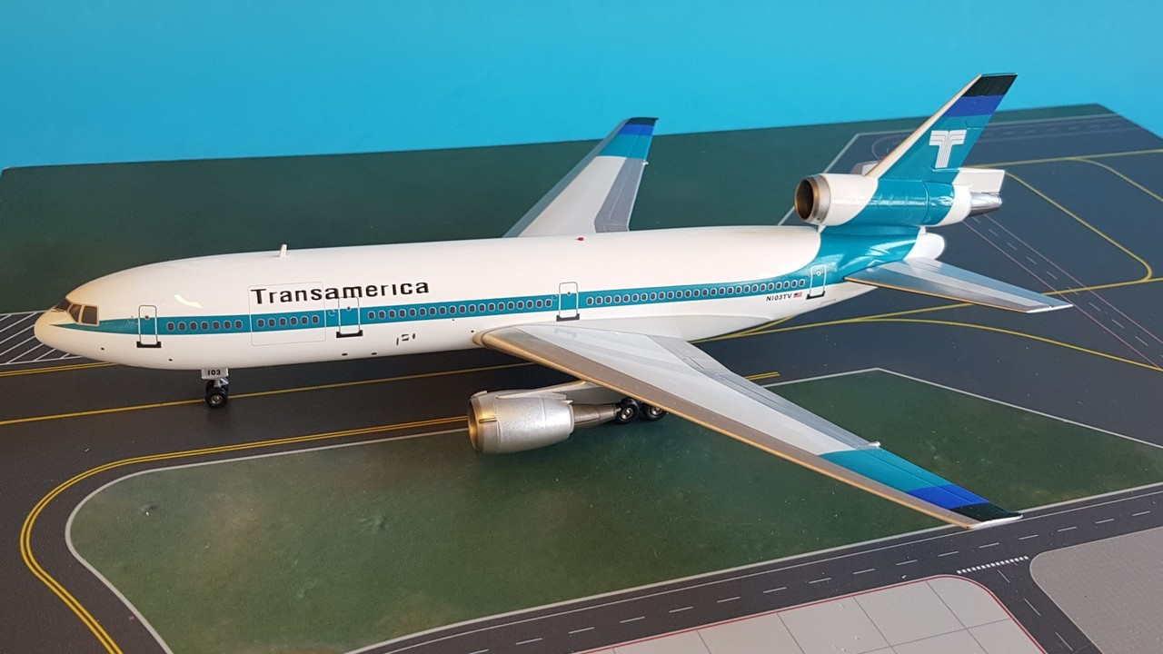 - 1/200 Transamerica DC-10-30 N103TV£95.00