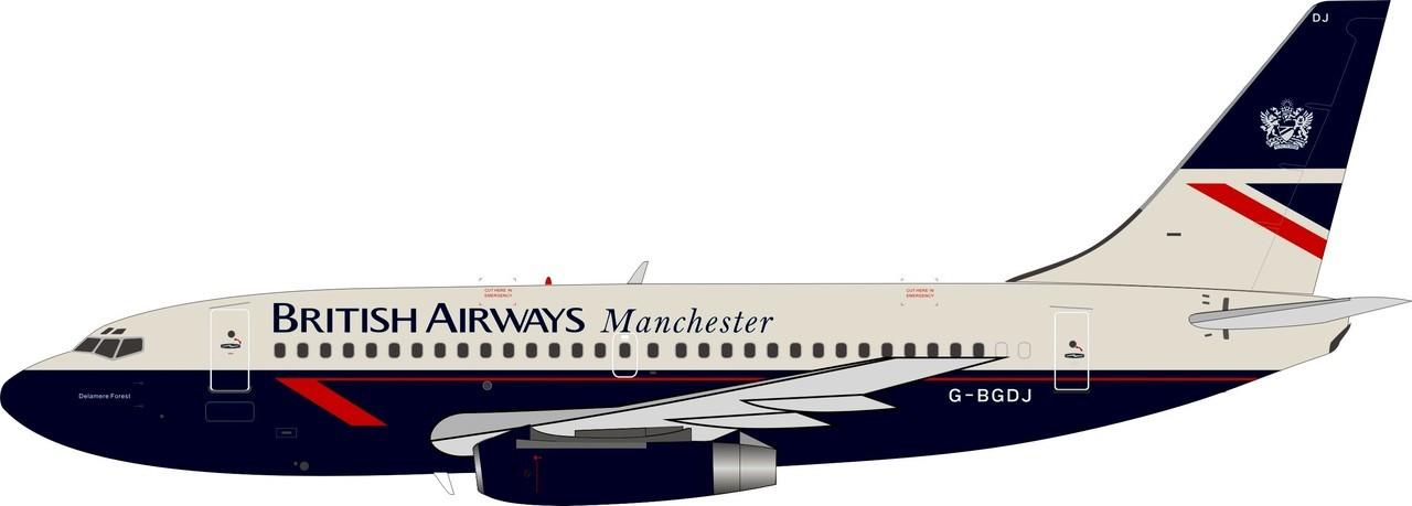 - 1/200 British Airways 'Manchester' 737-200 G-BGDJ£80.00