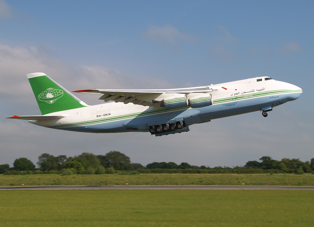 A big thanks to Stuart Prince for sharing with us this beautiful shot of a legendary visitor to Manchester back in May 2009. Libyan Air Cargo AN124-100 5A-DKN is seen here departing from Runway 23 Left en route to Chad on 28th May 2009.