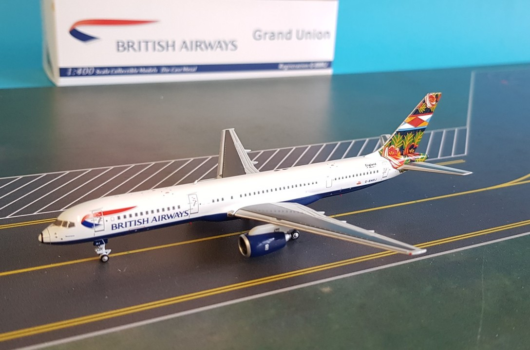 - 1/400 British Airways 757-200 'Grand Union' G-BMRJ£45.00