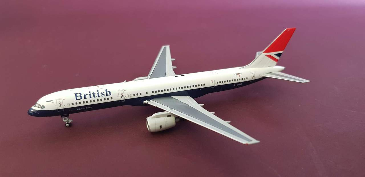 - 1/400 British (Airways as we know it today) 757-200Negus Livery G-BIKB £45.00