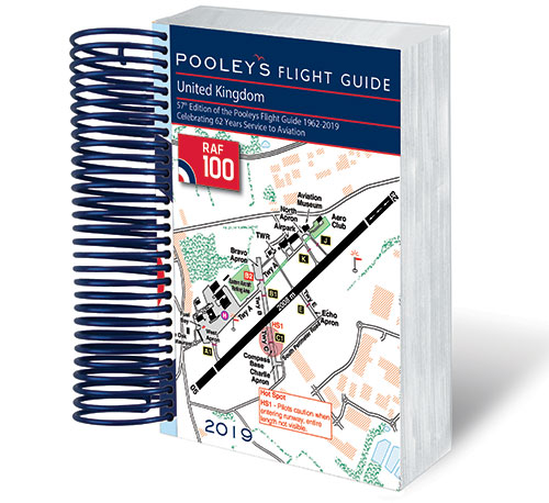 - Pooleys Flight Guide Spiral Bound £28.00
