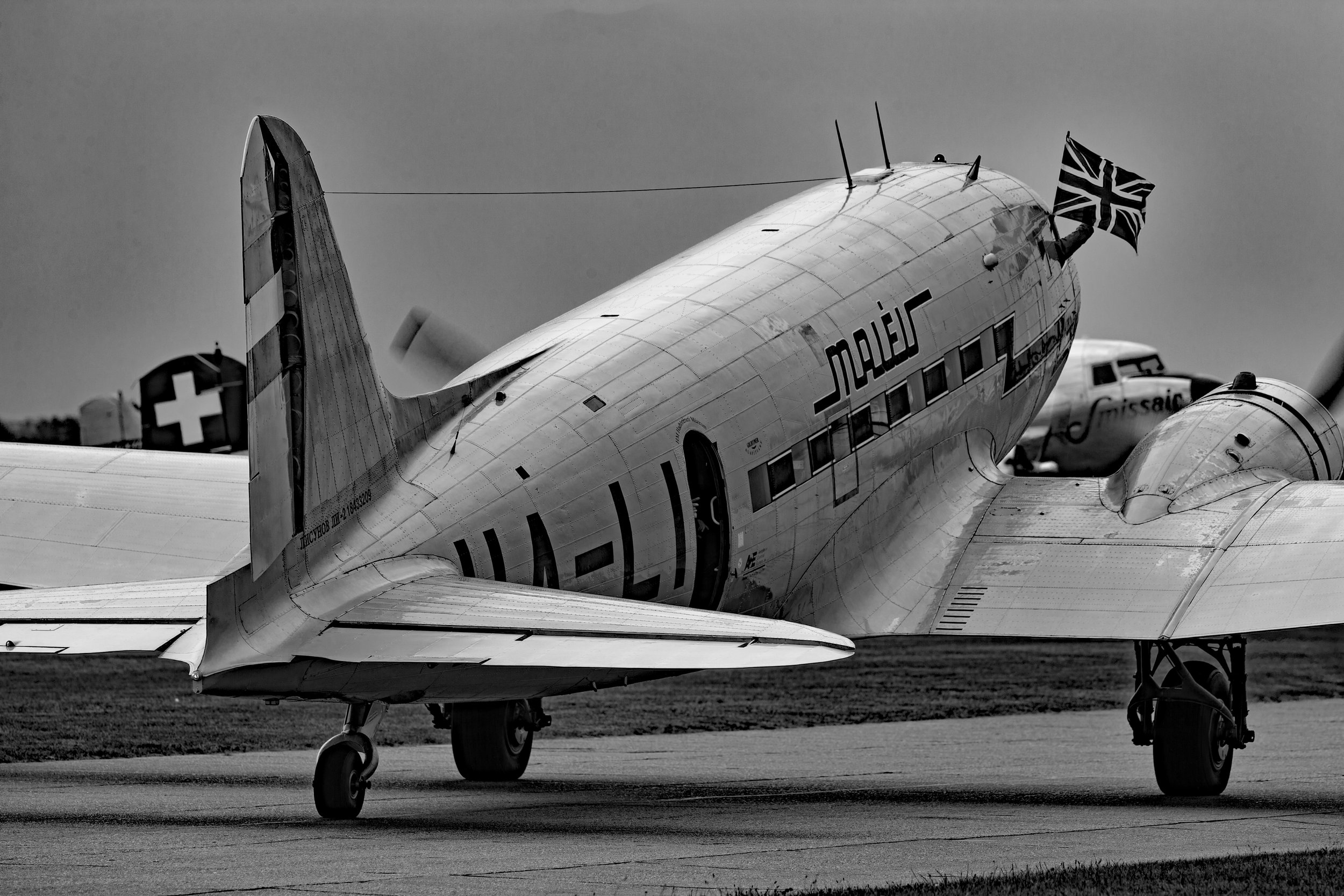 A journey back in time.Duxford 4th June 2019. Photo: Peter Hampson.